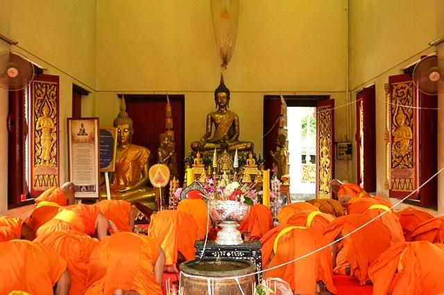 Cambodge méditation