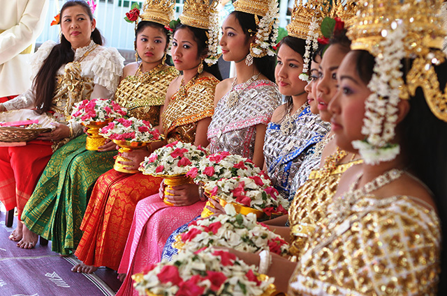 Cambodge habitants